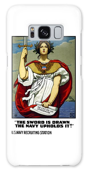 Lady Galaxy Case - The Sword Is Drawn - The Navy Upholds It by War Is Hell Store