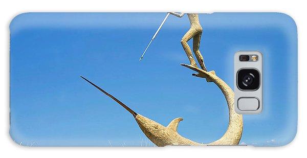 The Swordfish Harpooner Galaxy Case by Mark Miller