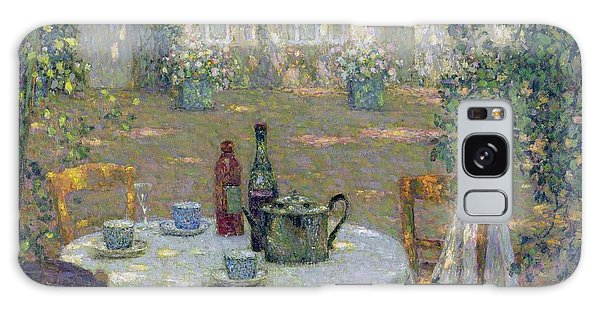Gardens Galaxy Case - The Table In The Sun In The Garden by Henri Le Sidaner