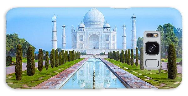 The Taj Mahal Of India Galaxy Case