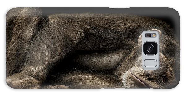Chimpanzee Galaxy S8 Case - The Teenager by Paul Neville