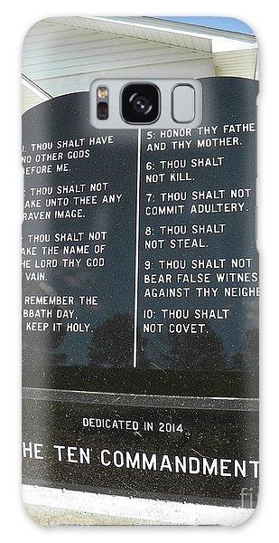 The Ten Commandments Galaxy Case