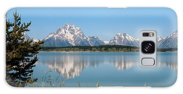 Teton Galaxy Case - The Tetons On Jackson Lake - Grand Teton National Park Wyoming by Brian Harig