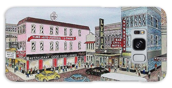 The Theater District Portsmouth Ohio 1948 Galaxy Case