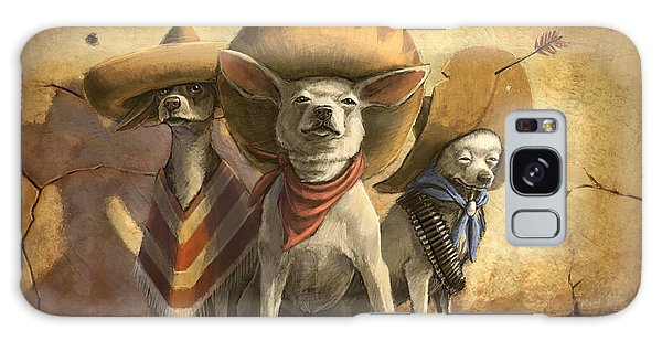 Mexican Galaxy S8 Case - The Three Banditos by Sean ODaniels