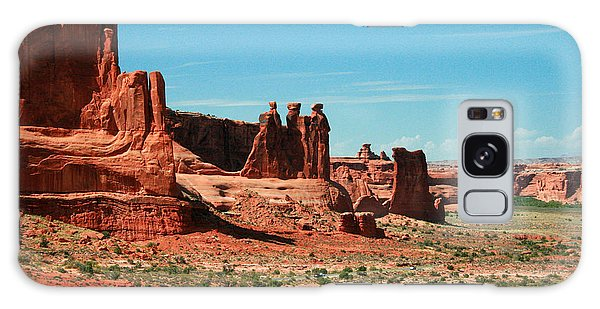 Desert View Tower Galaxy Case - The Three Gossips by Corey Ford