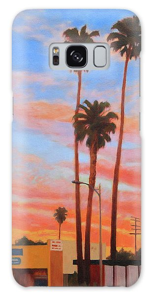 The Three Palms Galaxy Case by Andrew Danielsen