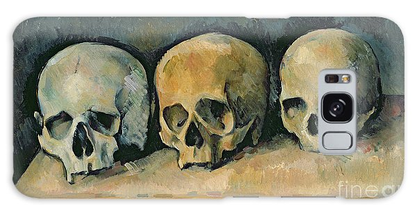 Lives Galaxy Case - The Three Skulls by Paul Cezanne