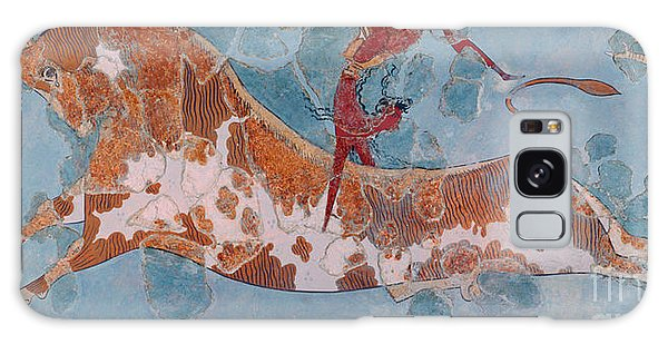 Minotaur Galaxy Case - The Toreador Fresco, Knossos Palace, Crete by Greek School
