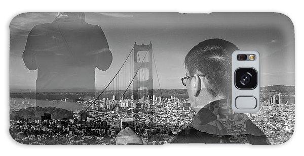 The Tourists - Golden Gate Bridge Galaxy Case