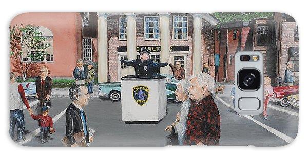 The Traffic Box Galaxy Case by Jack Skinner