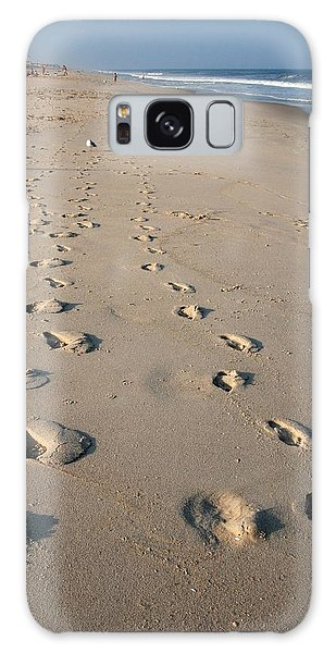 The Trails Of Footprints - Jersey Shore Galaxy Case
