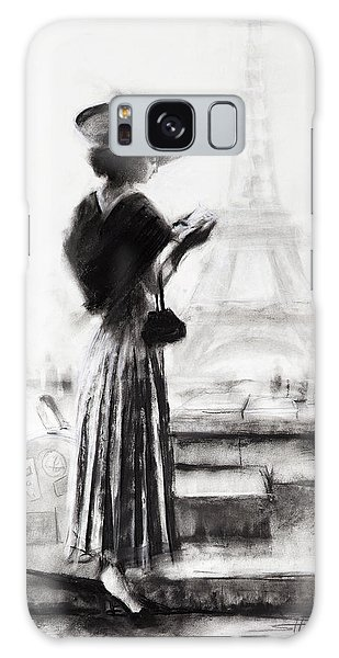 Galaxy Case featuring the painting The Traveler by Steve Henderson