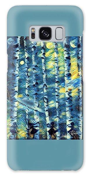 The Tree Children Galaxy Case by Vennie Kocsis