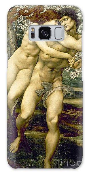 Mythological Galaxy Case - The Tree Of Forgiveness by Sir Edward Burne-Jones