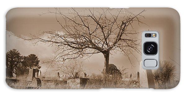 The Tree On Boot Hill  Galaxy Case by Nature Macabre Photography