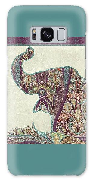 The Trumpet - Elephant Kashmir Patterned Boho Tribal Galaxy Case by Audrey Jeanne Roberts