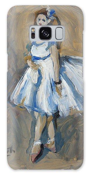 The Truth Lies Between Aguste Renoir And Marlene Dumas Galaxy Case