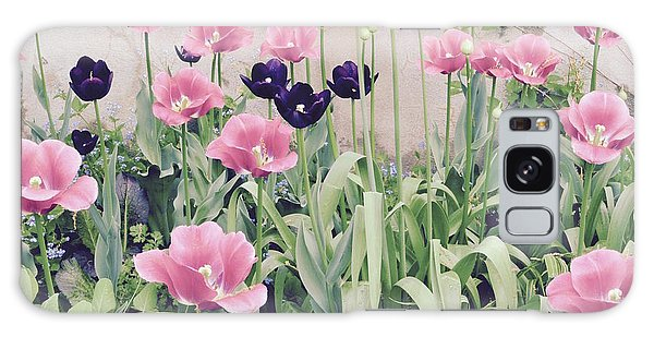 The Tulip Garden Galaxy Case by Jeannie Rhode
