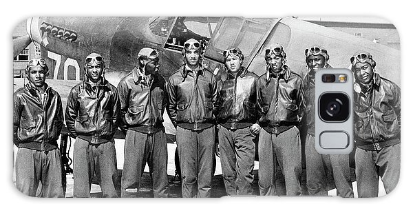 The Tuskegee Airmen Circa 1943 Galaxy Case
