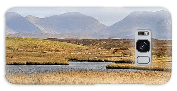 The Twelve Bens Mountains Connemara Ireland Galaxy Case