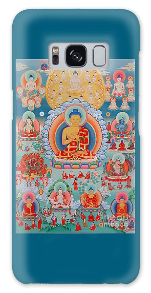 The Twelve Primordial Teachers Of Dzogchen - Tonpa Chu Ni Galaxy Case
