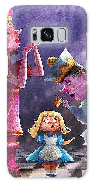 Fairy Galaxy Case - The Two Queens, Nursery Art by Kristina Vardazaryan