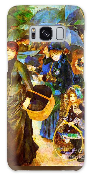 The Umbrellas By Renoir Galaxy Case by Pg Reproductions