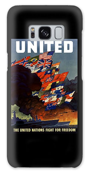 Political Galaxy Case - The United Nations Fight For Freedom by War Is Hell Store