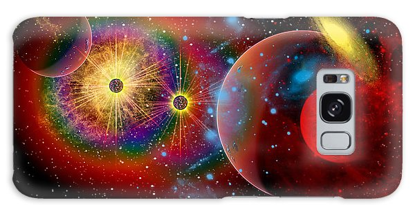 Majestic Galaxy Case - The Universe In A Perpetual State by Mark Stevenson