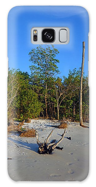 The Unspoiled Beauty Of Barefoot Beach In Naples - Portrait Galaxy Case