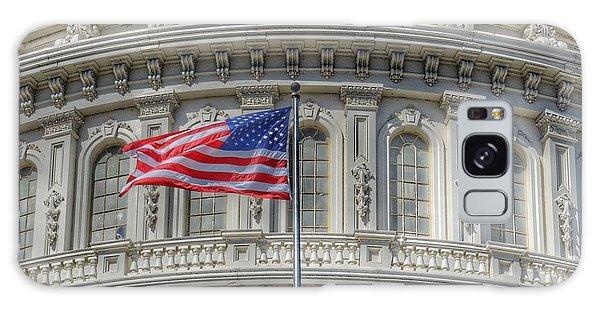 The Us Capitol Building - Washington D.c. Galaxy Case