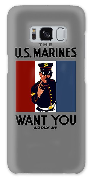 Political Galaxy Case - The U.s. Marines Want You  by War Is Hell Store