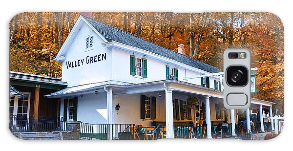 The Valley Green Inn In Autumn Galaxy Case by Bill Cannon
