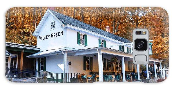 The Valley Green Inn In Autumn Galaxy Case