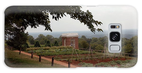 The Vegetable Garden At Monticello Galaxy Case