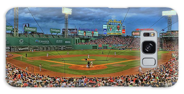 The View From Behind Home Plate - Fenway Park Galaxy Case