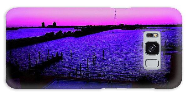 The Purple View  Galaxy Case