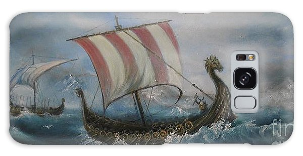 The Vikings Galaxy Case