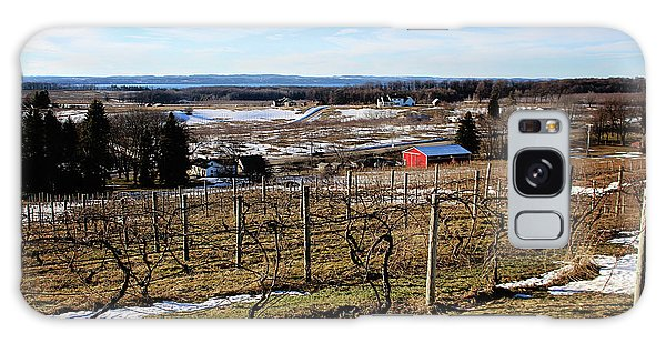 The Vineyard On Old Mission Galaxy Case