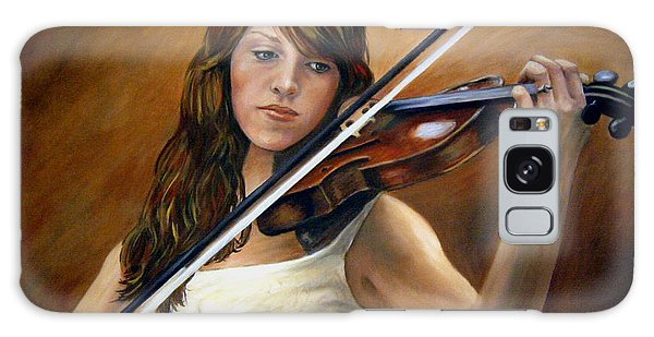 Galaxy Case - The Violinist by Anne Kushnick