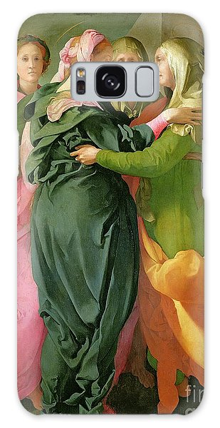 New Testament Galaxy Case - The Visitation by Jacopo Pontormo