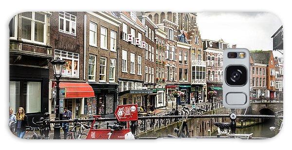 The Vismarkt In Utrecht Galaxy Case by RicardMN Photography