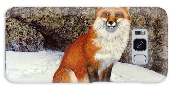 The Wait Red Fox Galaxy Case