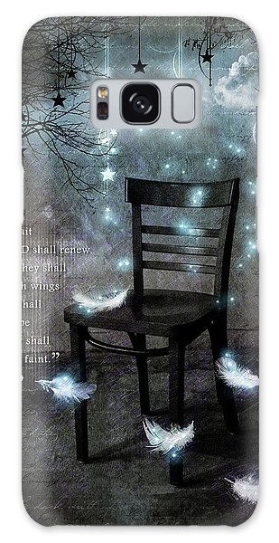 Feather Stars Galaxy Case - The Waiting Room II by Gary Bodnar