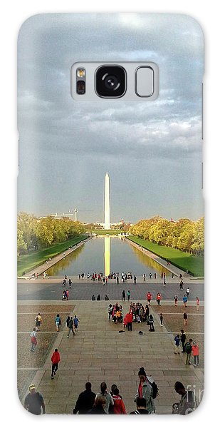 The Washington Monument And The Reflecting Pool Galaxy Case