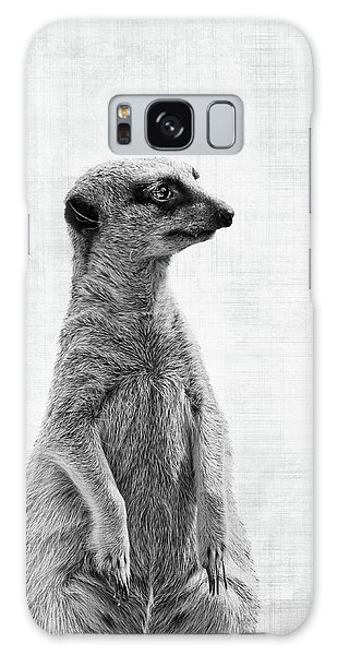 Meerkat Galaxy S8 Case - The Watcher by Delphimages Photo Creations