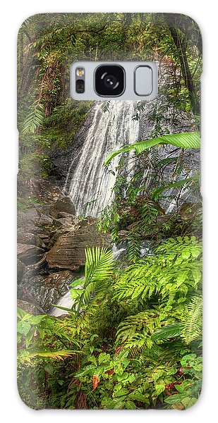 Galaxy Case featuring the photograph The Waterfall by Hanny Heim