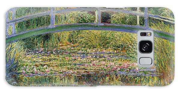 Impressionism Galaxy Case - The Waterlily Pond With The Japanese Bridge by Claude Monet