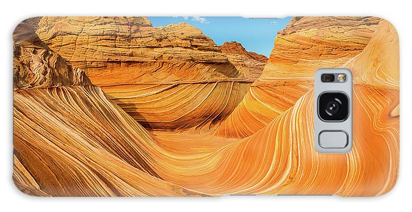 Beautiful Sunrise Galaxy Case - The Wave by Edgars Erglis